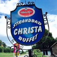 Photo taken at Strandbad  Christa by Christoph P. on 7/14/2015