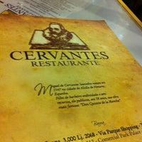 รูปภาพถ่ายที่ Cervantes โดย Marcello Pereira เมื่อ 9/30/2012