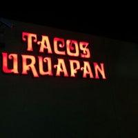 Photo taken at Tacos Uruapan by Fernando on 1/31/2013