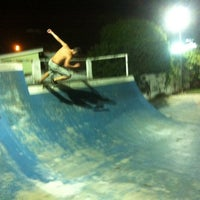 Photo taken at Suicide Skate Park by Fabiana A. on 3/17/2014