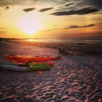 Photo taken at Coffin Beach by Matthew S. on 7/6/2013