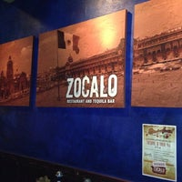 Photo taken at Zocalo Restaurant & Tequila Bar by Francis K. on 10/5/2012
