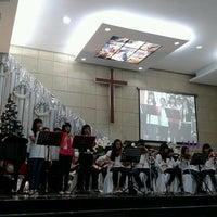 Photo taken at Gereja Kristen Indonesia (GKI) by Neiklen rifen K. on 12/9/2012