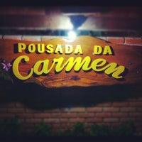 Photo taken at Pousada Da Carmen by Caio C. on 9/16/2012