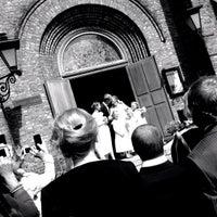 Photo taken at Sofienberg kirke by Alexander Amadeus Tiberius J. on 8/17/2014