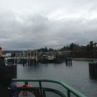 Photo taken at Bainbridge Island Ferry Terminal by Frank Y. on 3/10/2013