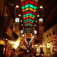 Photo taken at Nishiki Market by yoshi y. on 10/21/2012