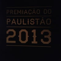 Photo taken at Premiação do Paulistão by Léo on 5/20/2013
