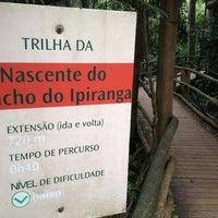 Photo taken at Trilha da Nascente do Córrego Pirarungáua by Léo on 12/9/2012