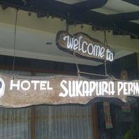 Photo taken at Hotel Sukapura Permai by Zendy h. on 5/20/2013