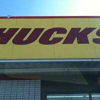 Photo taken at Huck's Convenient Food Store by Alexis S. on 1/17/2013