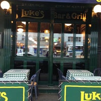 Photo taken at Luke's Bar & Grill by Jenny on 10/16/2012