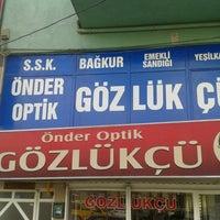 Photo taken at ÖNDER OPTİK by Nail Y. on 2/23/2013