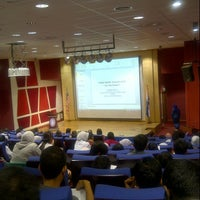 Photo taken at MAHSA Auditorium by Serena S. on 10/9/2012