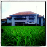 Photo taken at SMA Negeri 1 Semarang by Tito R. on 6/2/2013