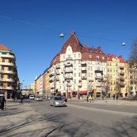 Photo taken at Flygbussarna S:t Eriksplan (B) by Dmitriy on 3/14/2013