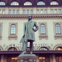 Photo taken at Stockholm Central Railway Station by Dmitriy on 3/17/2013