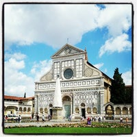 Photo taken at Piazza Santa Maria Novella by Davide F. on 6/22/2013