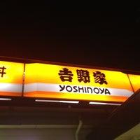 Photo taken at Yoshinoya by satoshi o. on 12/4/2012