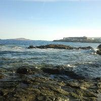Photo taken at La Puntilla- Playa Melenara by Adrián L. on 10/6/2012