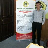 Photo taken at Universitas 17 Agustus 1945 (UNTAG) Samarinda by Mas E. on 4/2/2014