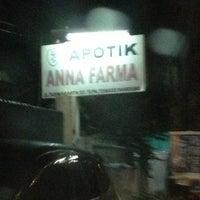 Photo taken at Apotek anna farma by Hendra C. on 11/22/2012