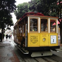 Photo taken at Powell Street Cable Car Turnaround by Miä D. on 6/25/2013
