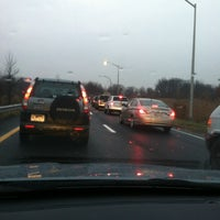 Photo taken at Interstate 278 (Staten Island Expy) by Eric on 12/4/2012