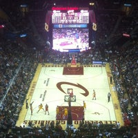 Photo taken at Quicken Loans Arena by YT L. on 1/6/2013