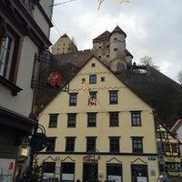 Photo taken at Schloß Hellenstein by Cihat on 12/28/2013