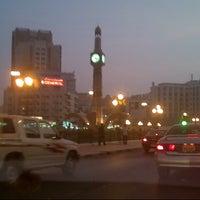 Photo taken at Sharjah Clock Tower by Shiraz K. on 6/8/2013