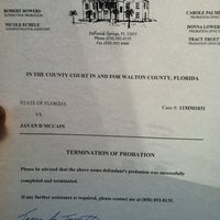 Photo taken at Walton County Courthouse by FLORIDA J w. on 10/17/2012