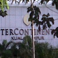 Photo taken at InterContinental Kuala Lumpur by faizal a. on 6/29/2013