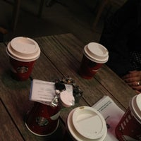 Photo taken at Starbucks by Melis T. on 11/8/2012