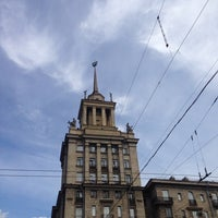 Photo taken at Шпиль на Парке Победы by ВИТМАН on 6/12/2014