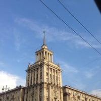 Photo taken at Шпиль на Парке Победы by ВИТМАН on 8/7/2014