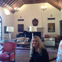Photo taken at Rice Faculty Club (Cohen House) by Jonathan S. on 1/17/2014