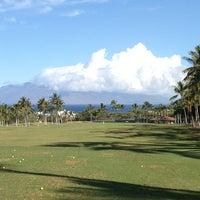 Photo taken at Makena Golf Club by Gary P. on 3/28/2013