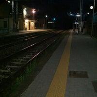 Photo taken at Stazione ferroviaria Quarto-Marano by Diego D. on 5/7/2013