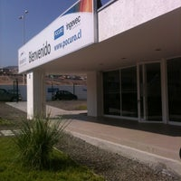 Photo taken at Sala De Ventas Pocuro by Rodrigo on 8/27/2014
