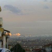 Photo taken at Kavacık Subayevleri by İlkay Dilan M. on 2/9/2013