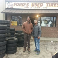 Photo taken at fords used tire by RAY D. on 2/3/2013