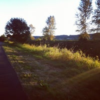 Photo taken at Sammamish River Trail by snowygrl on 10/1/2012