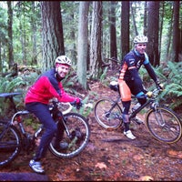 Photo taken at Duthie Hill Mountain Bike Park by snowygrl on 11/22/2012