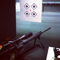 Photo taken at West Coast Armory Indoor Range by snowygrl on 10/20/2012