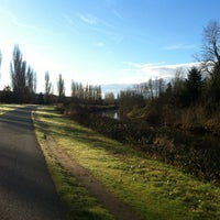 Photo taken at Sammamish River Trail by snowygrl on 2/19/2013