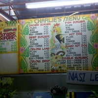 Photo taken at Charlie Burger by Jian X. on 1/8/2013