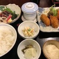 Photo taken at ごはん処 司 by Shunsuke Y. on 1/8/2017