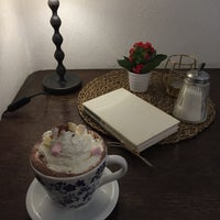 Photo taken at Egon Schiele Café by Kristina V. on 10/11/2017