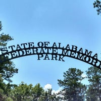 Photo taken at Confederate Memorial Park by Jackie H. on 6/7/2015
